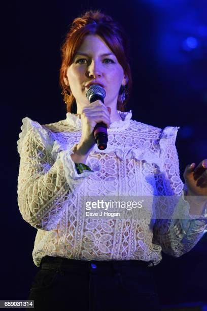 Alice Levine attends Day 1 of BBC Radio 1's Big Weekend 2017 at Burton Constable Hall on May 27 2017 in Hull United Kingdom