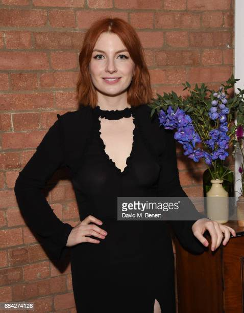 Alice Levine attends the launch of new book 'Jackson Levine Round To Ours' by Laura Jackson and Alice Levine at Hoxton Docks on May 17 2017 in London...