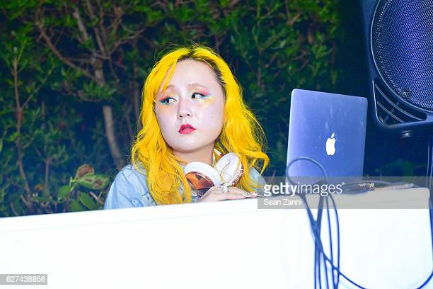 Alice Longyu Gao attends A$AP Worldwide Cozy Clubhouse at The Surf Lodge Bungalow on December 2 2016 in Miami Beach FL