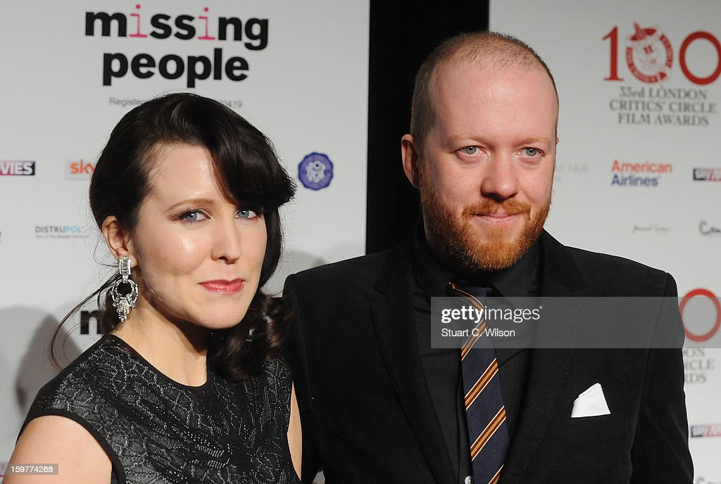 Alice Lowe and Steve Oram attend the London Critics' Circle Film Awards at The Mayfair Hotel on January 20, 2013 in London, England.