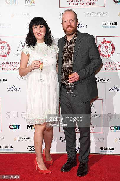 Alice Lowe and Steve Oram attend The London Critic's Circle Film Awards at the Mayfair Hotel on January 22 2017 in London United Kingdom