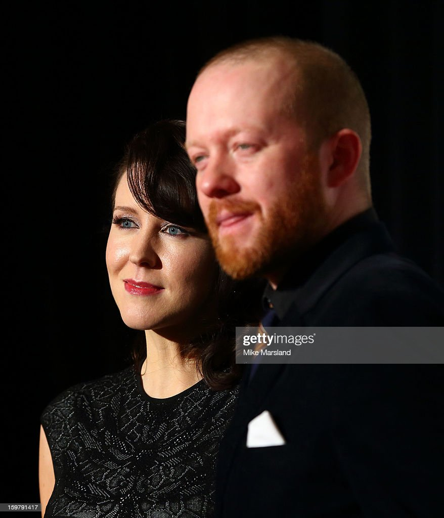 Alice Lowe and Steve Oram attend the London Film Critics Circle Film Awards at The Mayfair Hotel on January 20, 2013 in London, England.