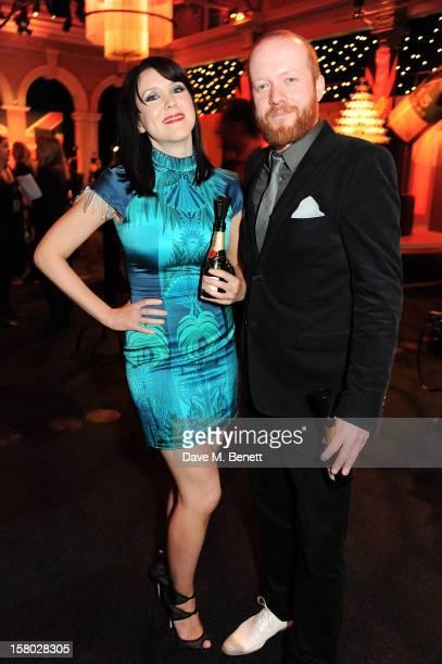 Alice Lowe and Steve Oram attend the Moet British Independent Film Awards at Old Billingsgate Market on December 9 2012 in London England