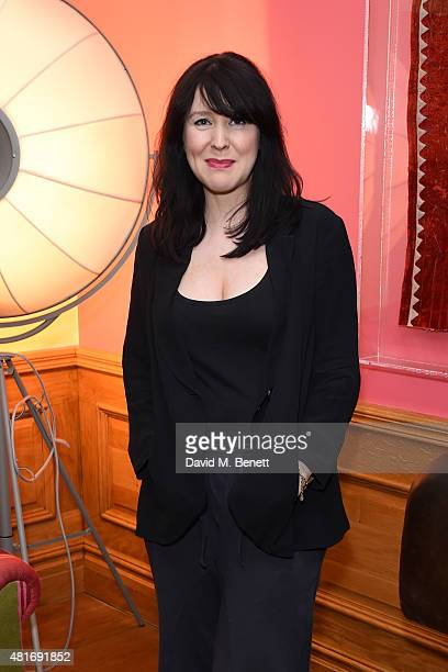 Alice Lowe attends the exclusive special screening of Trainwreck hosted by Nira Park at Soho Hotel on July 23 2015 in London England