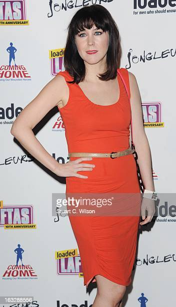 Alice Lowe attends the Loaded LAFTA's at Sway on March 7 2013 in London England