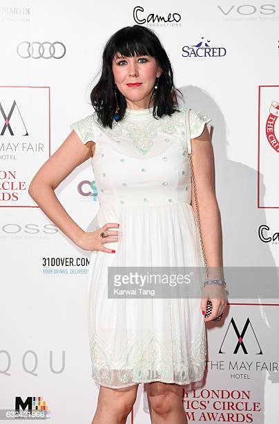 Alice Lowe attends The London Critic's Circle Film Awards at the Mayfair Hotel on January 22 2017 in London United Kingdom
