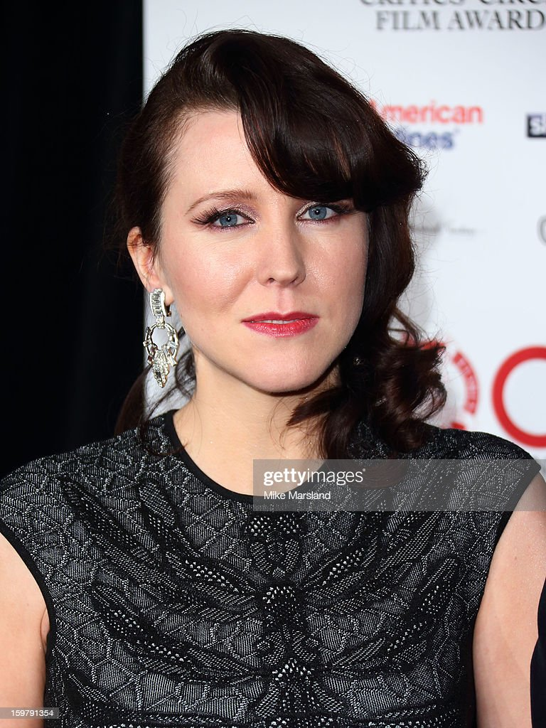 Alice Lowe attends the London Film Critics Circle Film Awards at The Mayfair Hotel on January 20, 2013 in London, England.