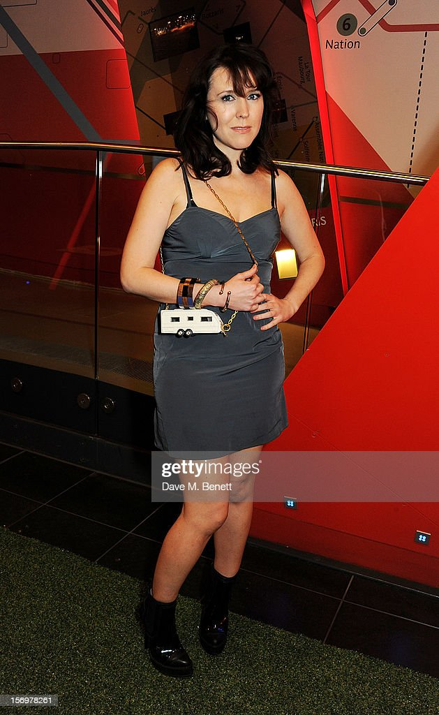 Alice Lowe attends the UK Premiere of 'Sightseers' in association with Stella Artois at the London Transport Museum on November 26, 2012 in London, England.