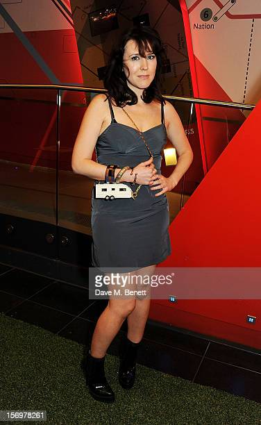 Alice Lowe attends the UK Premiere of 'Sightseers' in association with Stella Artois at the London Transport Museum on November 26 2012 in London...