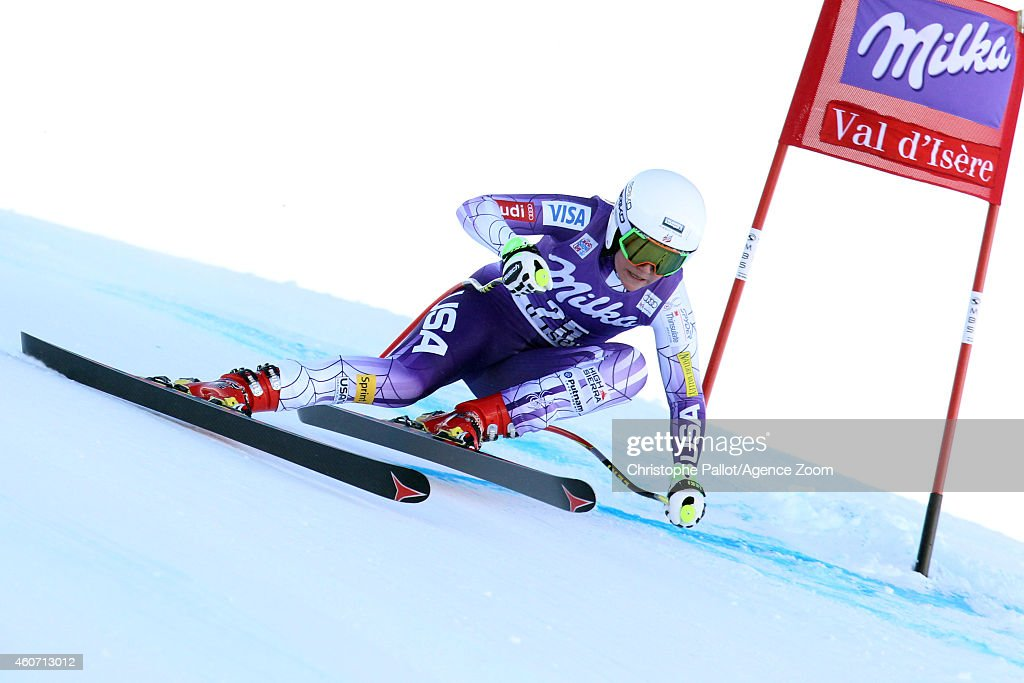 <a gi-track='captionPersonalityLinkClicked' href=/galleries/search?phrase=Alice+McKennis&family=editorial&specificpeople=6531582 ng-click='$event.stopPropagation()'>Alice McKennis</a> of the USA competes during the Audi FIS Alpine Ski World Cup Women's Downhill on December 20, 2014 in Val dâIsere, France.
