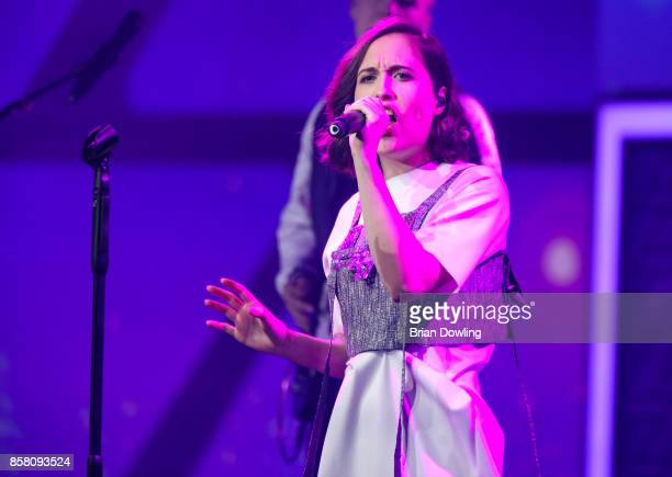 Alice Merton performs at the Tribute To Bambi show at Station on October 5 2017 in Berlin Germany