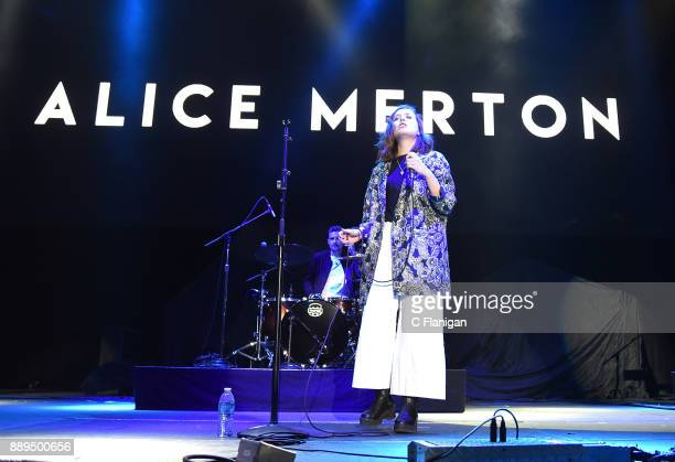 Alice Merton performs during Live 105's 2017 Not So Silent Night at ORACLE Arena on December 9 2017 in Oakland California