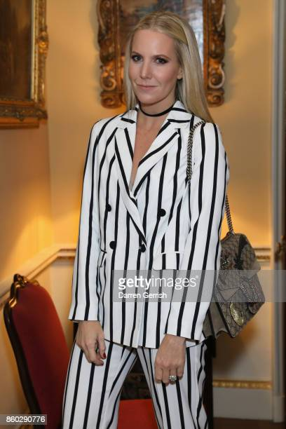 Alice Naylor Leyland attends Giampiero Bodino's 'Beauty Is My Favourite Colour' cocktails and dinner evening at Spencer House on October 11 2017 in...