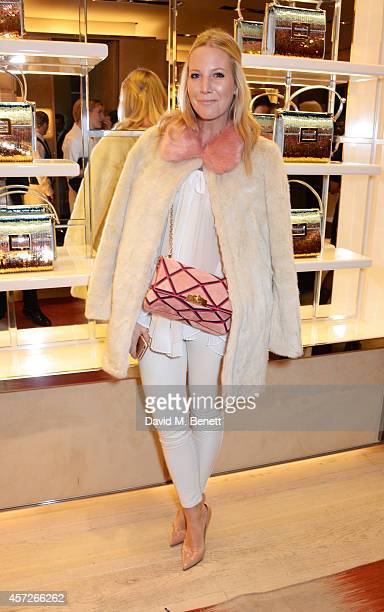 Alice Naylor Leyland attends the Roger Vivier 'The Perfect Pair' Frieze cocktail celebrating Ambra Medda 'Miss Viv' at the Roger Vivier Boutique on...