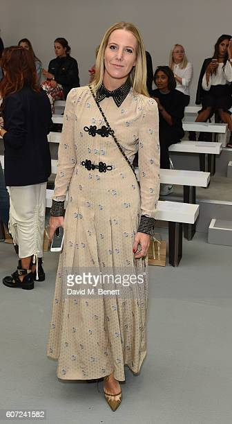 Alice NaylorLeyland attends the Barbara Casasola runway show during London Fashion Week Spring/Summer collections 2017 on September 17 2016 in London...