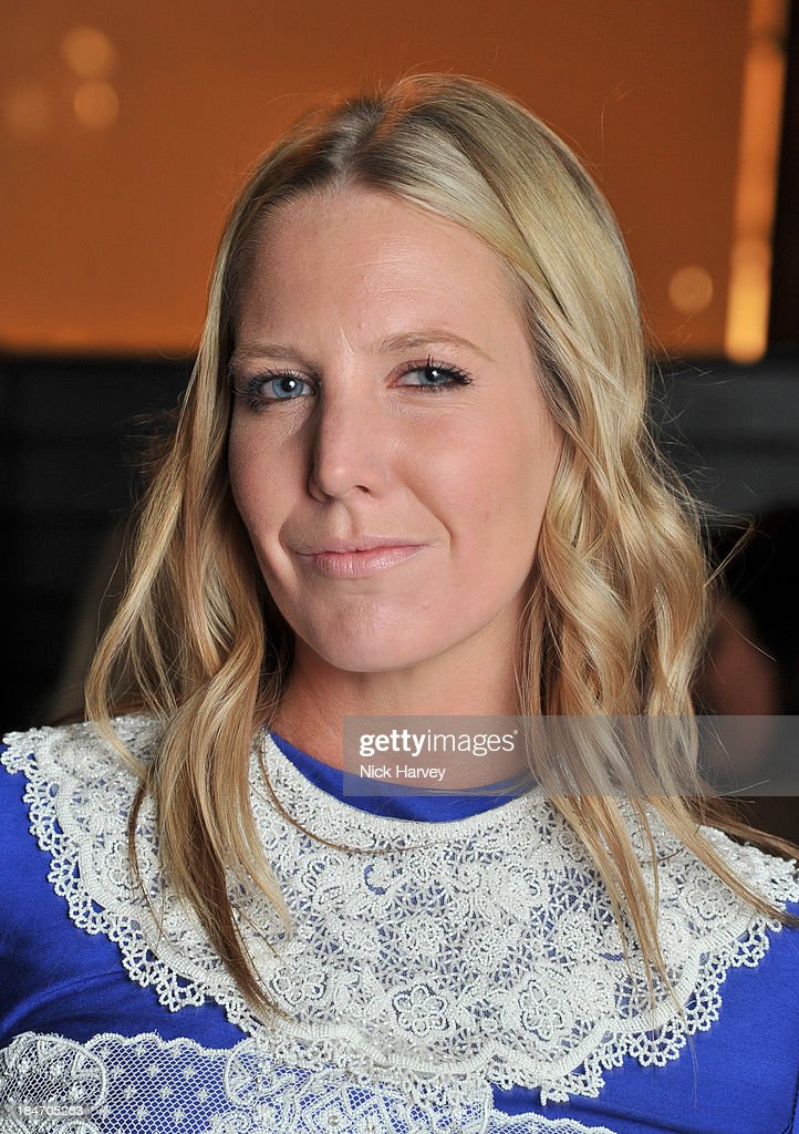 Alice Naylor-Leyland attends the Roger Vivier Virgule party at Le Baron on October 15, 2013 in London, England.