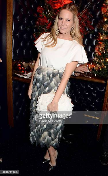 Alice NaylorLeyland attends the Sunday Times Style Xmas Party at Tramp on December 9 2014 in London England