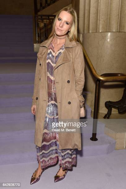 Alice Nayor Leyland attends the Temperley London FW 17 Fashion Show on February 19 2017 in London England