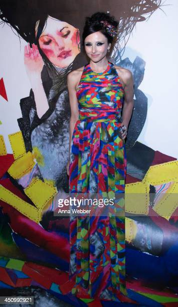 alice olivia Designer Stacey Bendet arrives to alice olivia By Stacey Bendet And David Choe Celebrate A Night Of Fashion And Art on November 20 2013...
