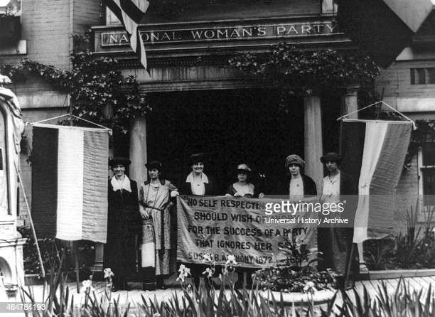 Alice Paul and members National Woman's Party