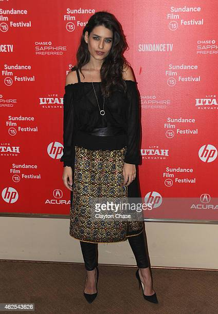 Alice Peneaca attends the 'Pioneer's Palace' Premiere during the 2015 Sundance Film Festival on January 30 2015 in Park City Utah