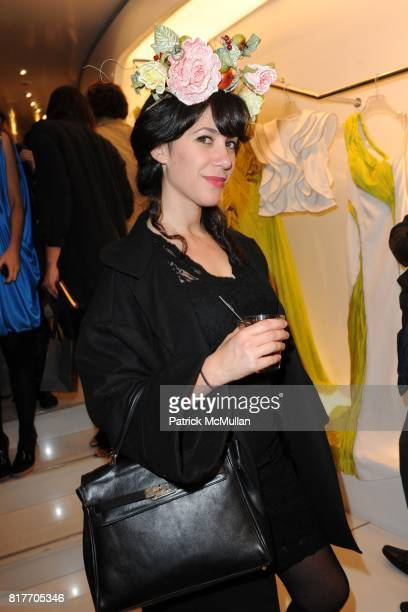 Alice Phiffer attends Carlos Miele and Vogue Italia Celebrate Limited Edition of TShirts Designed by Lapo Elkann and Bianca Brandolini CONTACT SIPA...
