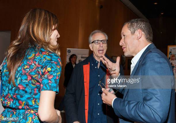 Alice Pol Jerry Zucker and Dany Boon attend the 18th Annual City Of Lights City Of Angels Film Festival at Directors Guild Of America on April 26...