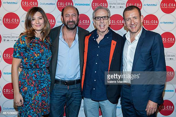 Alice Pol Kad Merad Jerry Zucker and Dany Boon attend the 18th Annual City Of Lights City Of Angels Film Festival at Directors Guild Of America on...