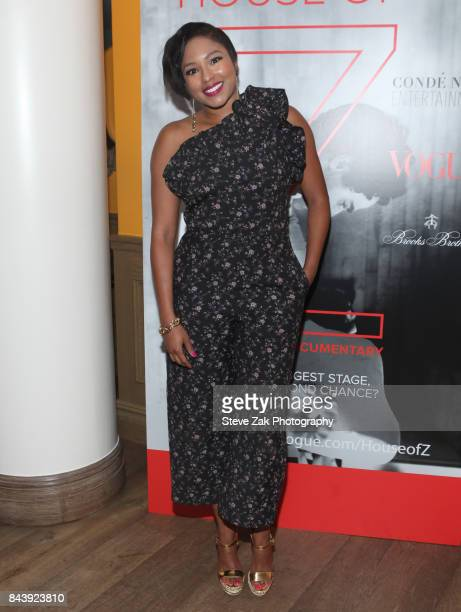 Alice Quarles attends the premiere of 'House Of Z' hosted by Brooks Brothers with The Cinema Society at Crosby Street Hotel on September 7 2017 in...