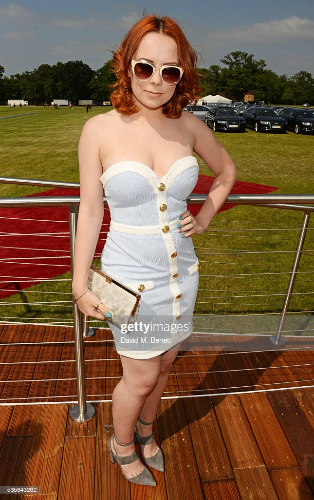 Alice Sykes attends day two of the Audi Polo Challenge at Coworth Park on May 29, 2016 in London, England.