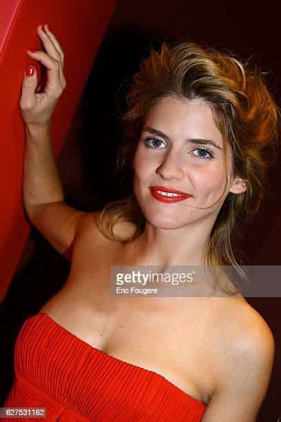 Alice Taglioni at the Lancel Red Party held at the Olympia in Paris