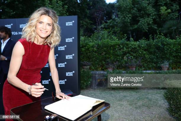 Alice Taglioni attends '1926 Montblanc Heritage Launch event' on June 14 2017 in Florence Italy