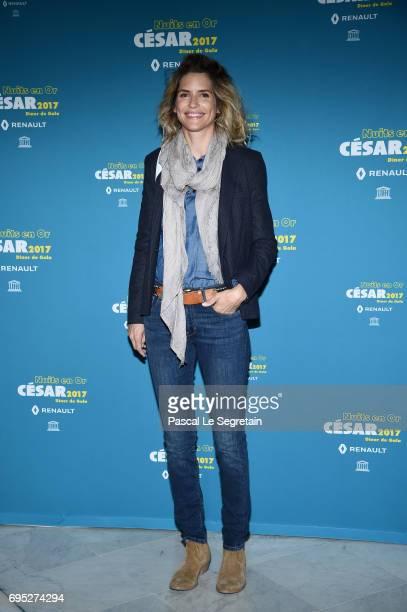 Alice Taglioni attends 'Les Nuits en Or 2017' Dinner Gala on June 12 2017 in Paris France