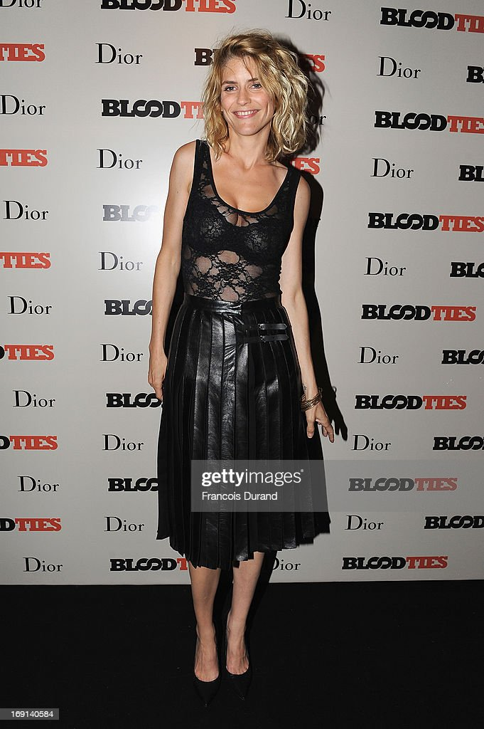 Alice Taglioni attends the 'Blood Ties' cocktail and party hosted by Dior at Club by Albane in Bulgari Rooftop on May 20, 2013 in Cannes, France.