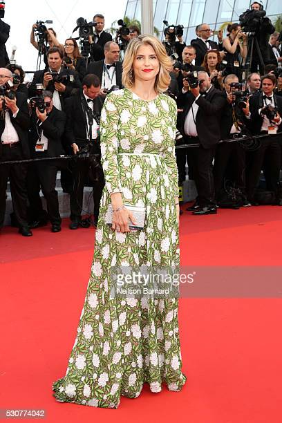 Alice Taglioni attends the 'Cafe Society' premiere and the Opening Night Gala during the 69th annual Cannes Film Festival at the Palais des Festivals...