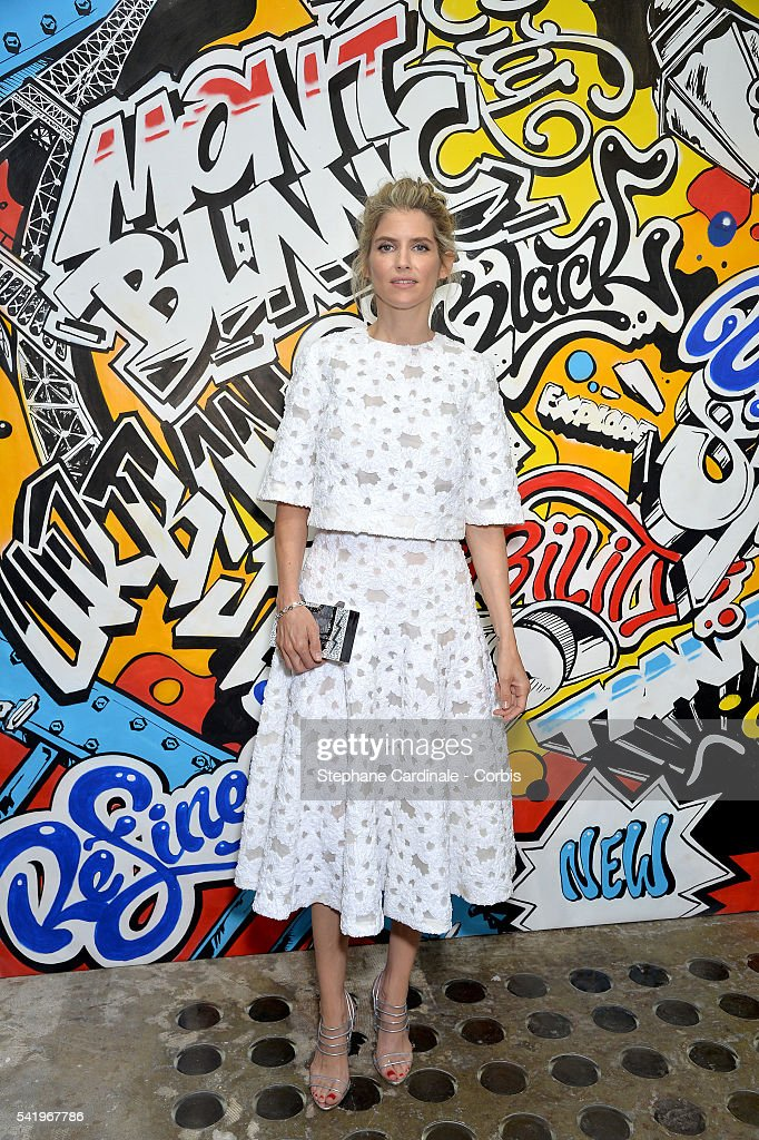 Alice Taglioni attends the Montblanc Urban Spirit Launch on June 21, 2016 in Paris, France.