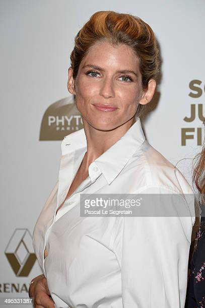 Alice Taglioni attends the Paris Premiere of 'Sous Les Jupes Des Filles' film at Cinema UGC Normandie on June 2 2014 in Paris France