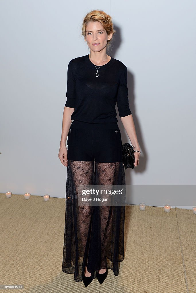 Alice Taglioni attends the Vanity Fair and Chanel dinner during The 66th Annual Cannes Film Festival at Tetou Restaurant on May 19, 2013 in Cannes, France.