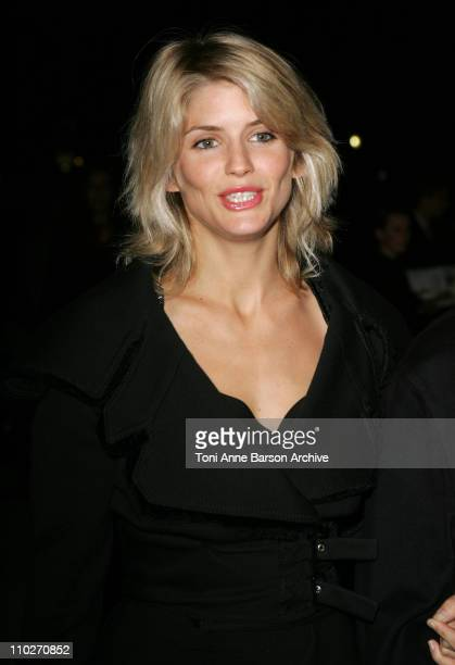 Alice Taglioni during Paris Fashion Week Pret a Porter Spring/Summer 2006 Christian Dior Arrivals at Grand Palais in Paris France