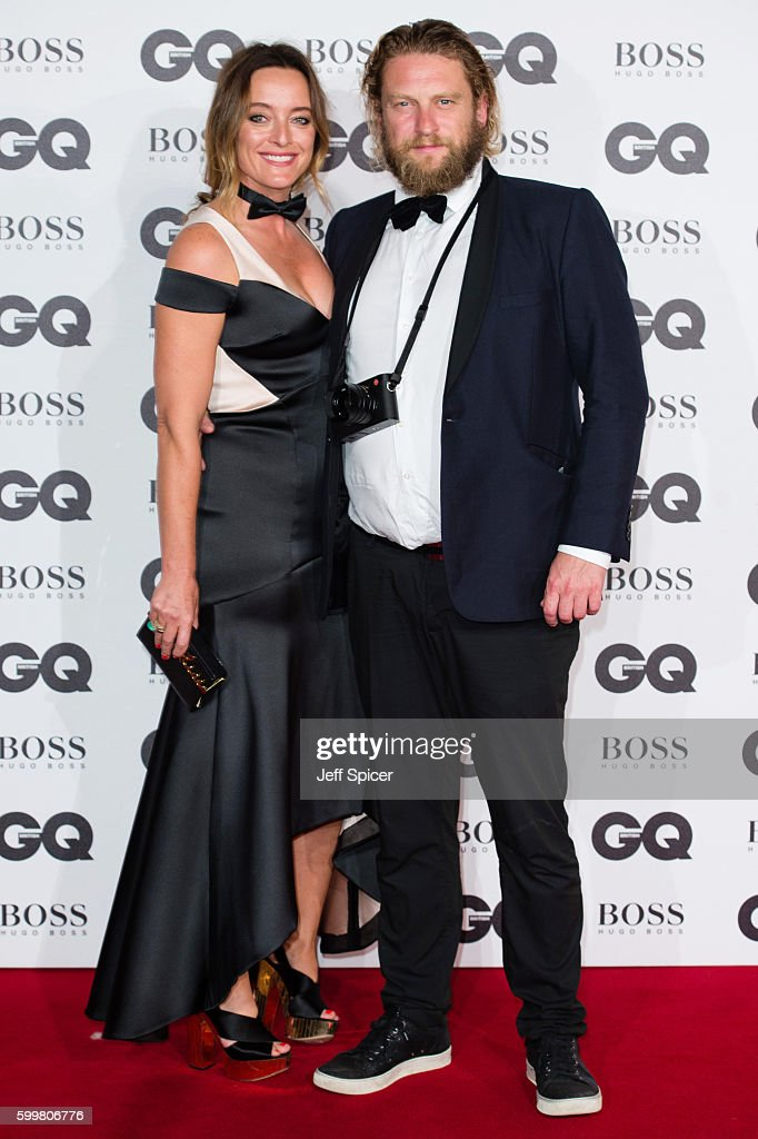 Alice Temperley and Greg Williams arrive for GQ Men Of The Year Awards 2016 at Tate Modern on September 6, 2016 in London, England.
