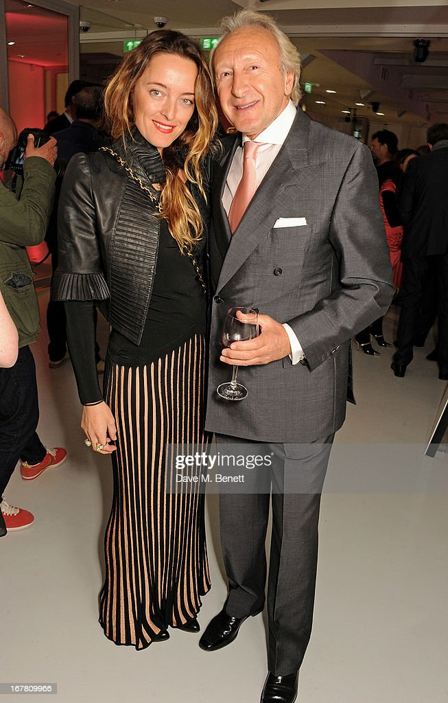 Alice Temperley (L) and <a gi-track='captionPersonalityLinkClicked' href=/galleries/search?phrase=Harold+Tillman&family=editorial&specificpeople=3039739 ng-click='$event.stopPropagation()'>Harold Tillman</a> attend the Conde Nast College of Fashion & Design opening party at 16/17 Greek Street on April 30, 2013 in London, England.