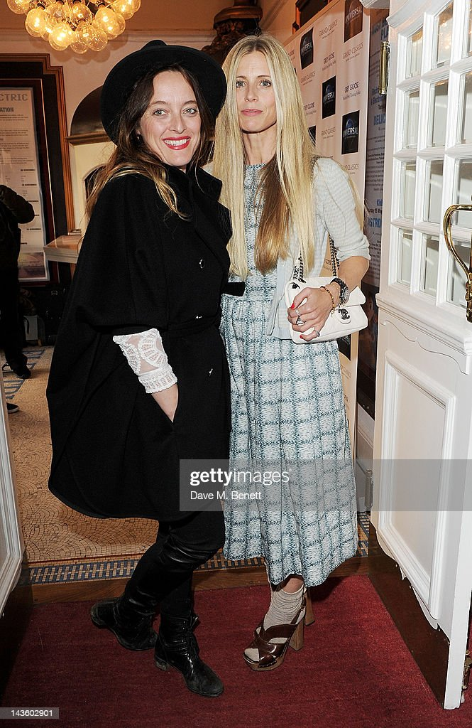 Alice Temperley and Laura Bailey attend as Grand Classics Richard Curtis and Grey Goose celebrate 100 years of Universal Pictures' greatest films...