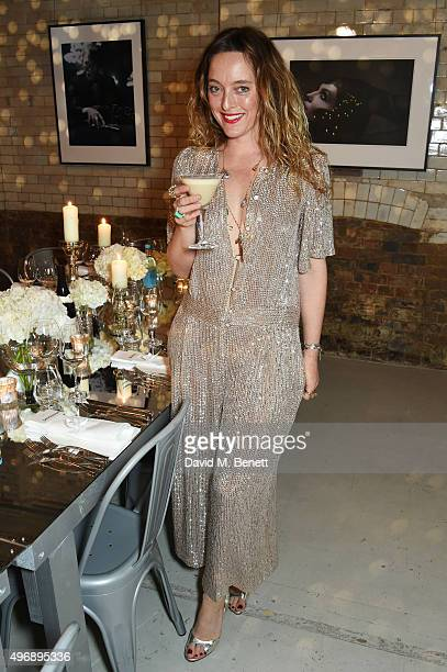 Alice Temperley attends an intimate dinner party which she hosted to celebrate 15 years of Temperley at GWP Studio on November 12 2015 in London...
