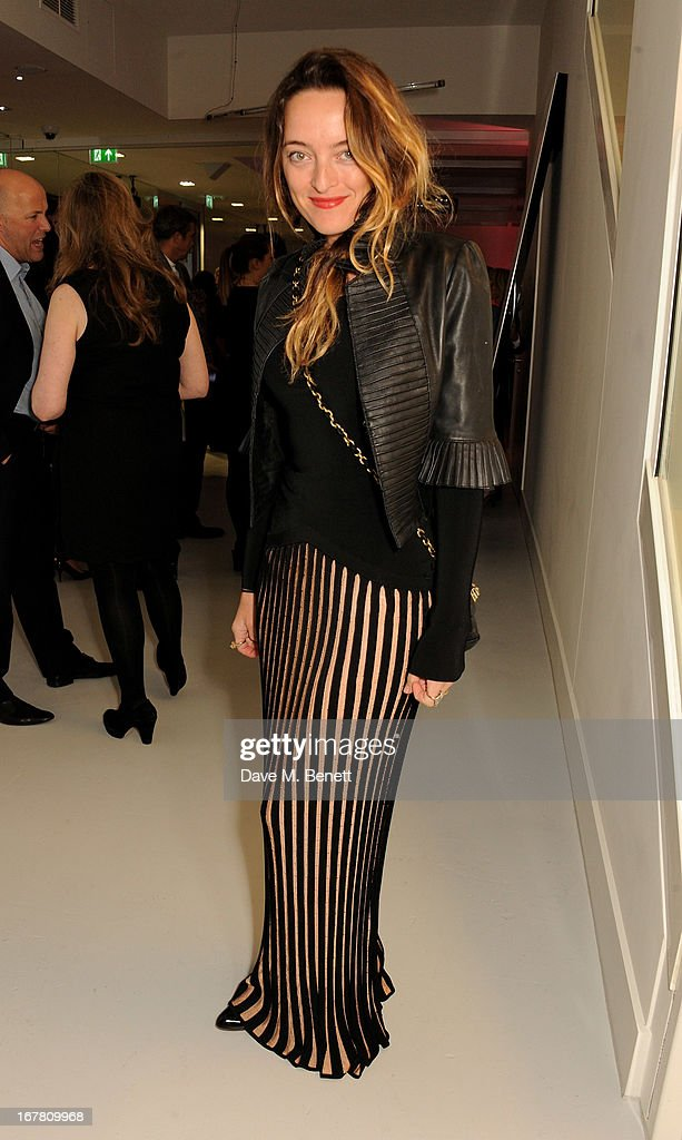 Alice Temperley attends the Conde Nast College of Fashion & Design opening party at 16/17 Greek Street on April 30, 2013 in London, England.