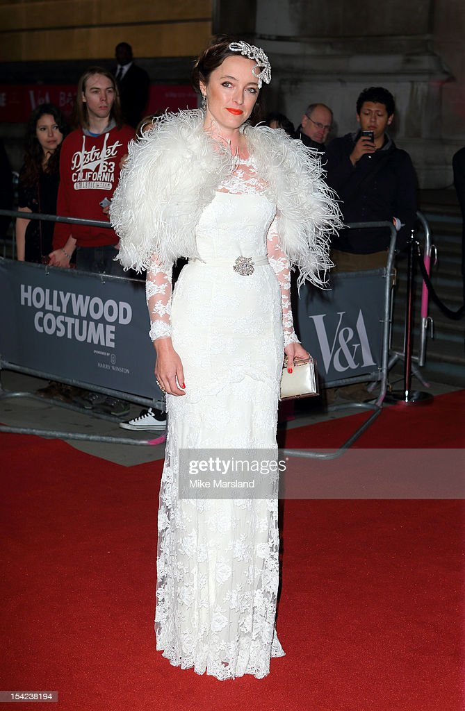 Alice Temperley attends the Hollywood Costume gala dinner at Victoria & Albert Museum on October 16, 2012 in London, England.