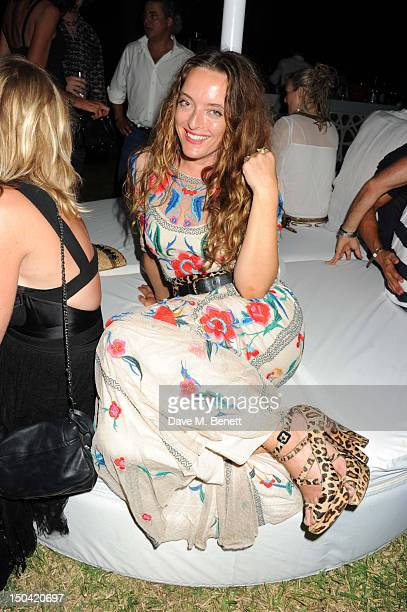 Alice Temperley attends the Ibiza Summer Party In Aid Of Teenage Cancer Trust and Asociacion Espanola Contra El Cancer at Groucho Ibiza on August 16...