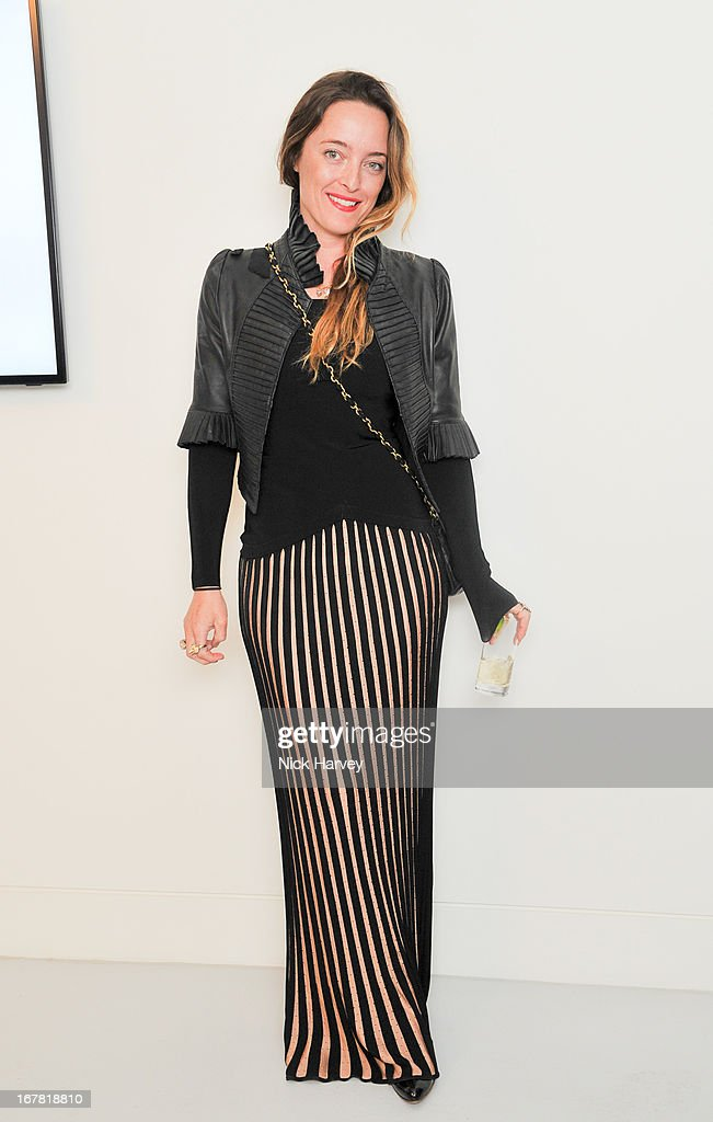 Alice Temperley attends the opening of the Conde Nast College of Fashion and Design on April 30, 2013 in London, England.
