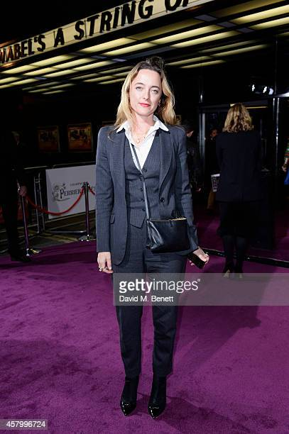 Alice Temperley attends the screening of the new Annabel's DocuFilm 'A String of Naked Lightbulbs' at The Curzon Mayfair on October 28 2014 in London...