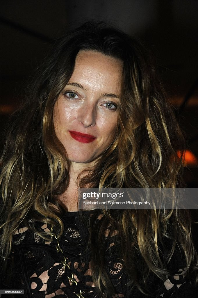<a gi-track='captionPersonalityLinkClicked' href=/galleries/search?phrase=Alice+Temperley&family=editorial&specificpeople=213399 ng-click='$event.stopPropagation()'>Alice Temperley</a> attends the Stefano Tonchi Celebrates W Magazine's Modern Beauty Issue Honoring Tilda Swinton at the Perry Street Restaurant on April 18, 2013 in New York City.