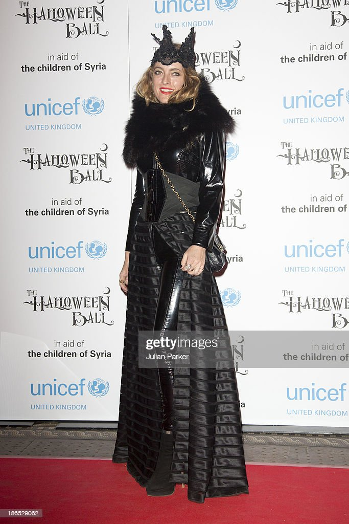 <a gi-track='captionPersonalityLinkClicked' href=/galleries/search?phrase=Alice+Temperley&family=editorial&specificpeople=213399 ng-click='$event.stopPropagation()'>Alice Temperley</a> attends The UNICEF Halloween Ball at One Mayfair on October 31, 2013 in London, England.